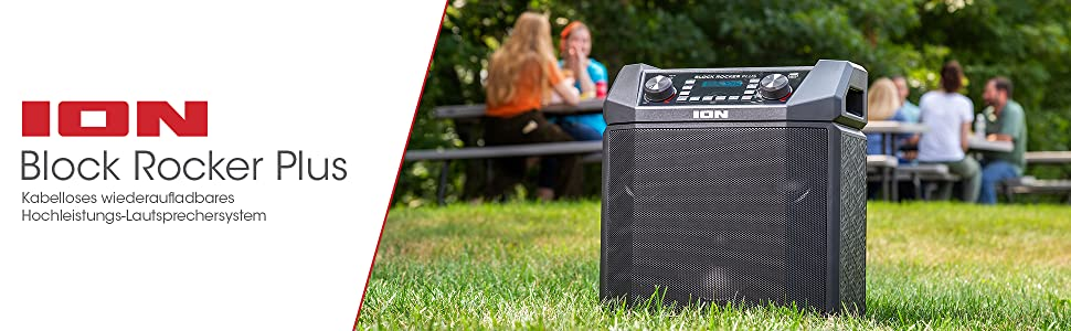 Block Rocker Plus Speaker Outdoors Bluetooth