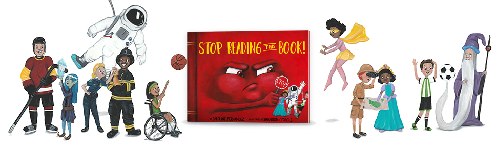 Stop Reading This Book!, Picture Book, Juvenile Fiction, Social Themes