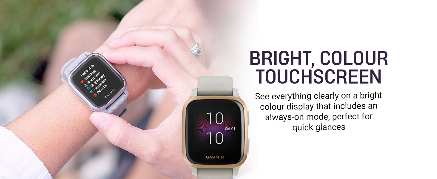 Bright Colour Touchscreen