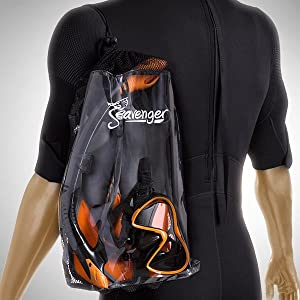 Seavenger Bag with Carrying Strap