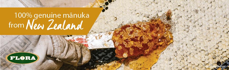 Manuka Honey, Flora, New Zealand, MGO, UMF