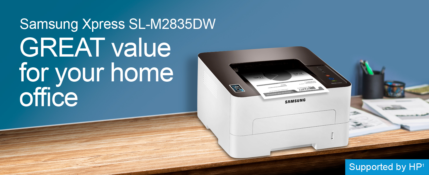 Samsung Xpress SL-M2835DW/XAA Wireless Monochrome Printer