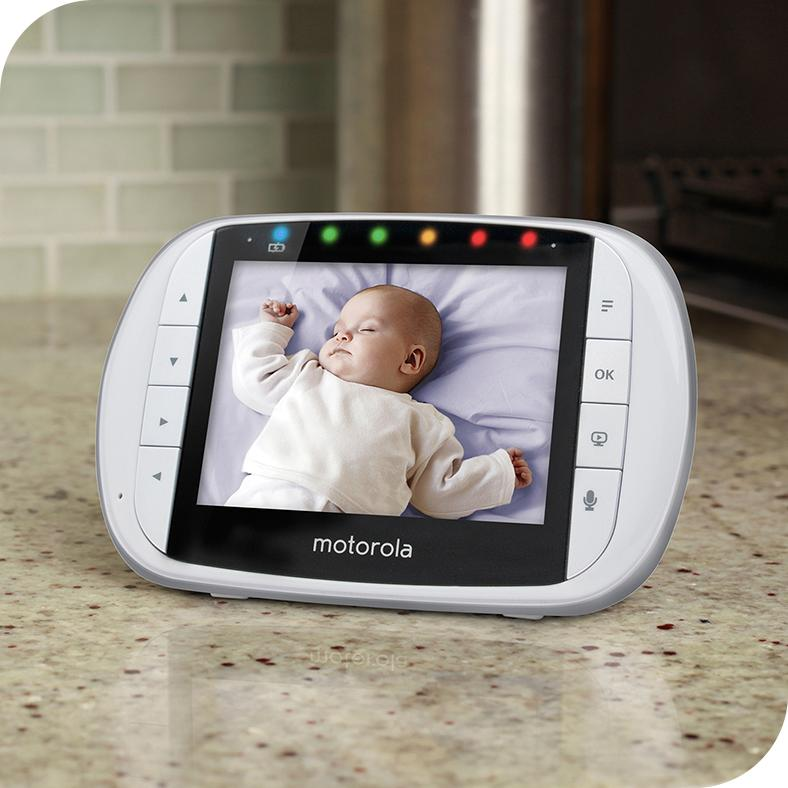 Amazon Com Motorola Mbp33xl 3 5 Quot Video Baby Monitor With