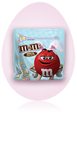 M&M'S Milk Chocolate Pastel Easter Candy Party Size Bag