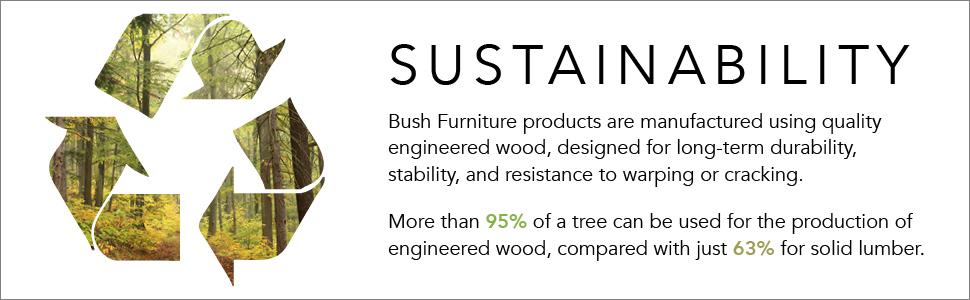 bush furniture,cabot,white,traditional