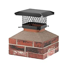 Amazon.com: Shelter SC913 Galvanized Steel Chimney Cap, Fits ...