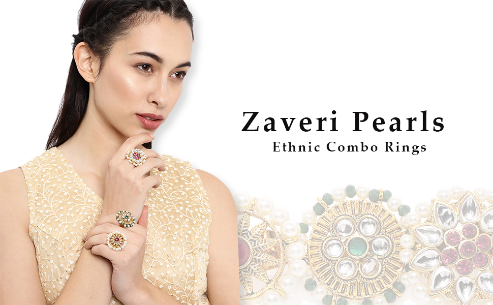 ZAVERI PEARLS,RING,TRADITIONAL RING,SIMPLE RING,FINGER RING