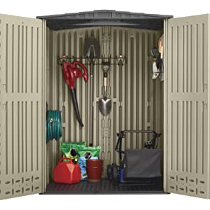 rubbermaid storage shed accessories