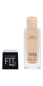 Maybelline Fit Me Dewy & Smooth Luminous Liquid Foundation