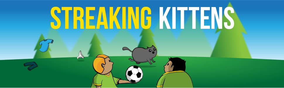 streaking kittens, party card game, expansion, exploding kittens