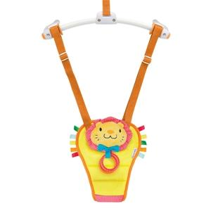 munchkin bounce and play baby door bouncer lenny the lion amazon