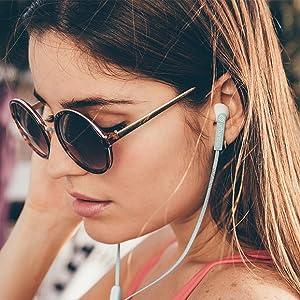 san francisco, lady, earphones, close up, photo, lifestyle
