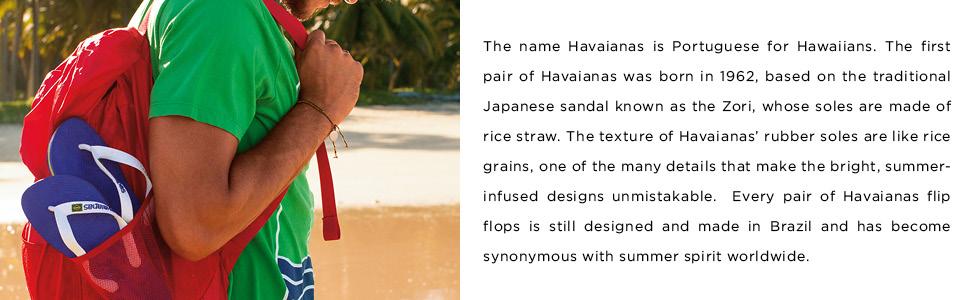 the original flip flop since 1962 brand story