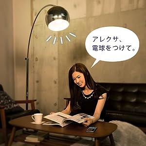 AIスピーカー対応LED電球