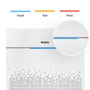 HR900 Smart Sensor Adjust LED Air Quality Indicator to display Air Quality