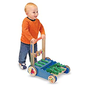 boy;girl;toddler;walking;toy;reptile;toy;colorful;skill;building