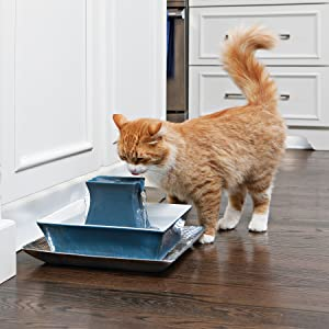 multi pet cat water fountain