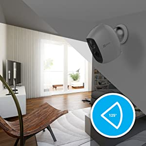 Ezviz C3a 1080p Surveillance Camera Cs W2d B3 Eup Eu Std Baumarkt