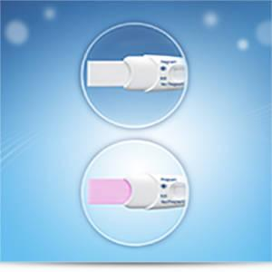 Clearblue Plus Visual Pregnancy Test Kit with Colour Change Tip