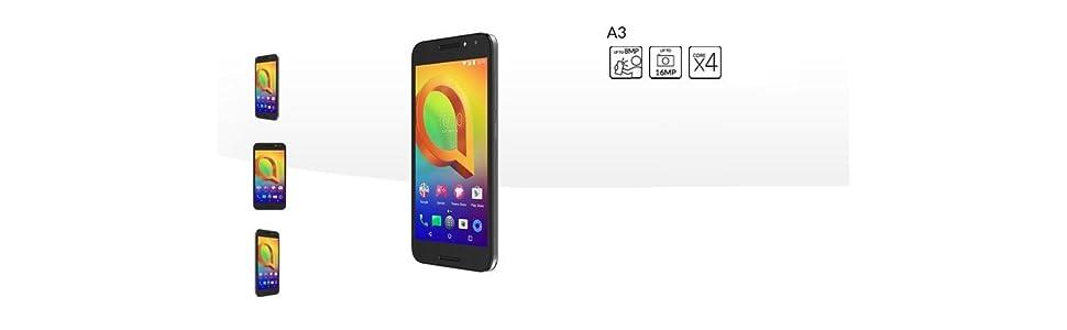Alcatel A3 XL - Smartphone Pantalla de 6 (4G, cámara de 13MP y frontal de 8MP, 2GB RAM, 16GB ROM, Android), Azul: Alcatel: Amazon.es: Electrónica