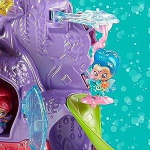 Multicoloured Shimmer and Shine GFB42 Leahs Teenie Genies Vanity Playset