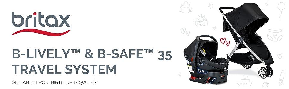 B-Lively & B-Safe 35 Travel System Header
