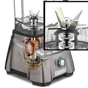 aspas triturar licuadora acero afiladas licuar mezclar electrodomestico