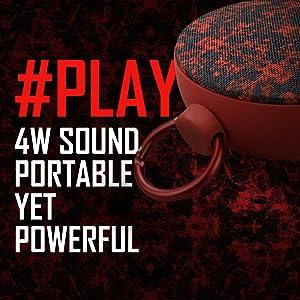 4 watt sound, powerful sound