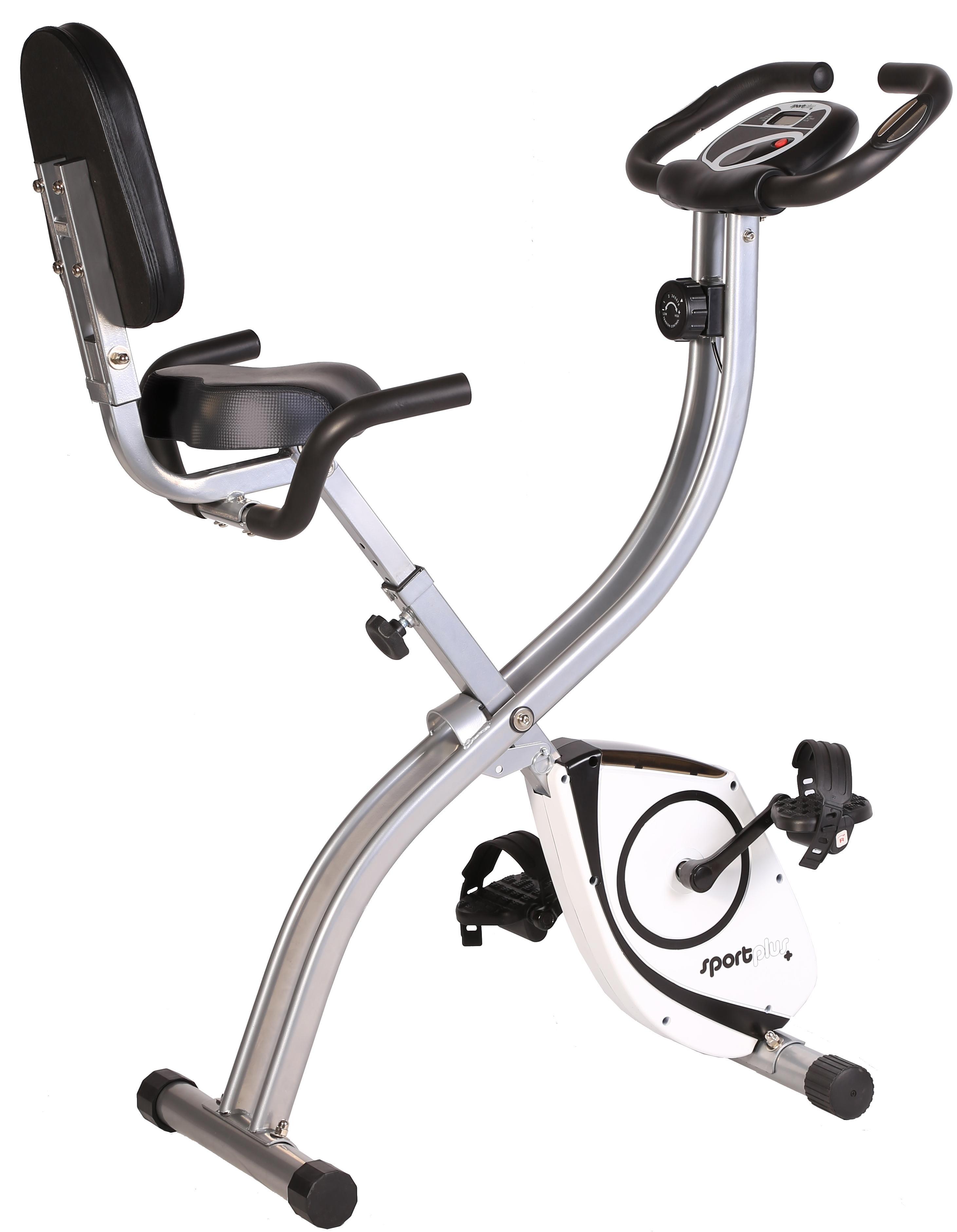 Sportplus cyclette s bike bicicletta da camera con for Benefici della cyclette da camera