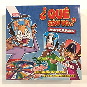 Falomir Máscaras. Juego de Mesa. Infantil. (28415): Amazon.es: Juguetes y juegos
