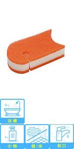 スリーエム(3M) 浴室掃除用スポンジ 抗菌3層ソフトスポンジ 2個 BM-22K 2P A 2個入