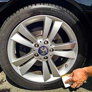 sonax tire gel detailing wheel