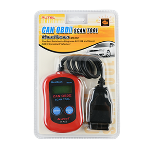 Autel MS300 auto scanner code reader package includes