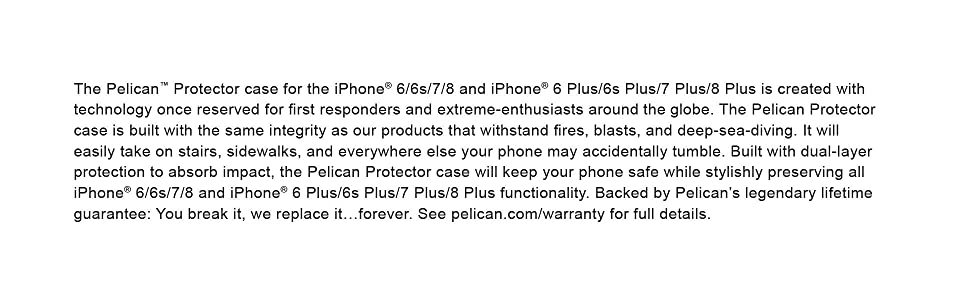 pelican case iphone 8 plus