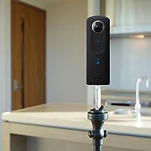 360度カメラ ricoh theta v カメラ デジカメ シータ ricoh theta 360カメラ リコーシータ リコー シータv ウェアラブル 全天球カメラ vrカメラ theta z1
