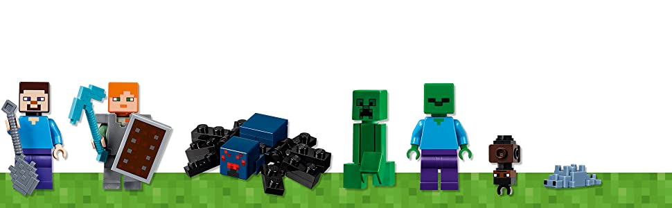 LEGO Minecraft The Bedrock Adventures