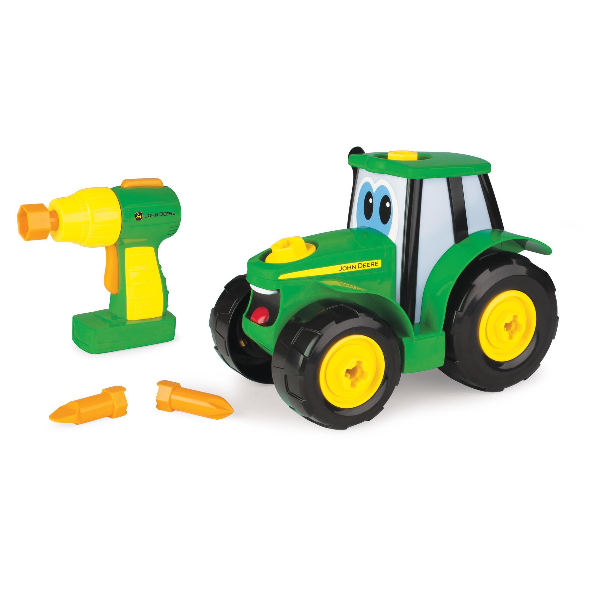tomy john deere bau dir deinen johnny traktor kinder traktor zum selbstbauen. Black Bedroom Furniture Sets. Home Design Ideas