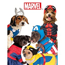Captain America Thor Spiderman costumes for dogs