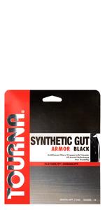 synthetic gut armor black