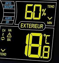 Blanc La Crosse Technology WS6860 Station m/ét/éo color/ée d/édi/ée au vent