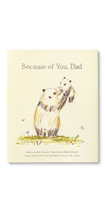 sweet illustrated gift book for dad