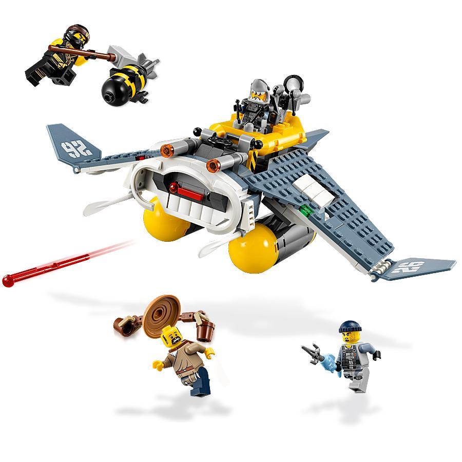 Lego ninjago movie manta ray bomber 70609 - Lego ninjago 4 ...