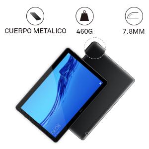 Delgado y ligero: HUAWEI MediaPad T5 es una tablet llamativa con un diseño premium y refinado
