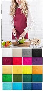 apron,chef apron,women apron,aprons for women,aprons with pocket,artist apron,shop apron