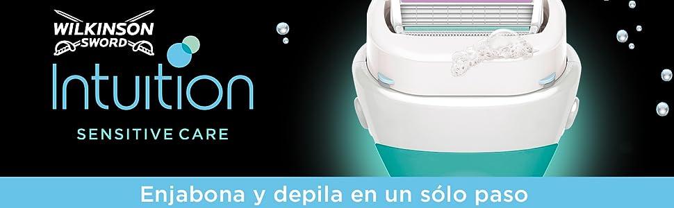 Wilkinson Sword, Pack FFP BOX Intuition - Kit de Maquinilla de ...