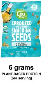 sea salt sprouted seeds go raw healthy snacks