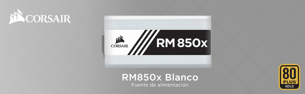 Corsair RM850x - Fuente de Alimentación (completamente modular, 80 ...