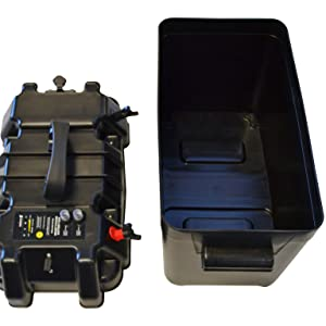 Newport Vessels smart battery box fits most battery common battery sizes