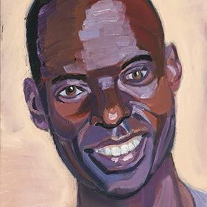 Portrait of Gilbert Tuhabonye