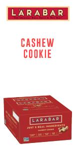 Larabar Cashew Cookie Fruit and Nut Bars